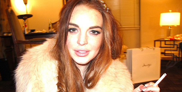 The government has seized Lindsay Lohan's bank accounts.  Next they will Seize Her!