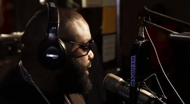 Watch Rick Ross Deny Cancelling Tour Due to Death Threats.  He also Fires shots at Jeezy and 50.