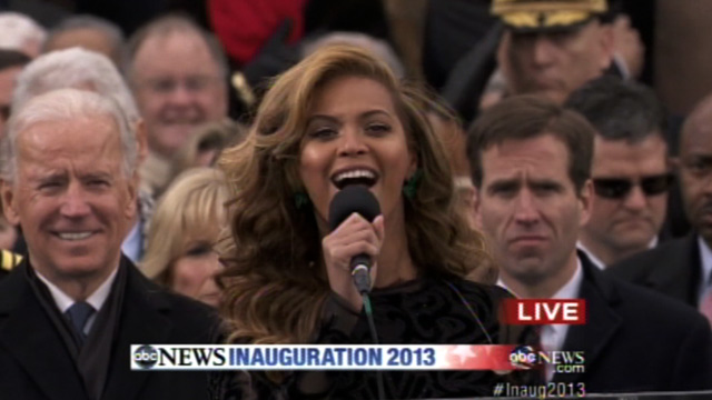 Confirmed (Maybe): Beyonce Lip-Synched The National Anthem – So What!!?!