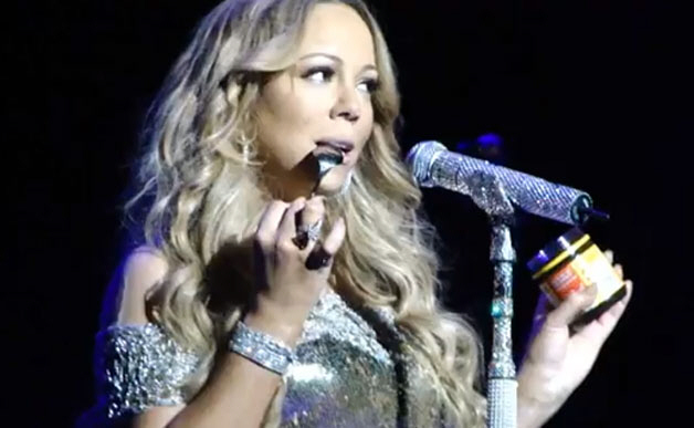 Watch Mariah Carey Freestyle After Equipment Malfunction During New Year's Eve Concert