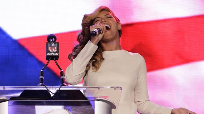 Beyonce Breaks her Silence about the anthem but Not Before Blowing the Press Away with a Live Rendition.  [video]