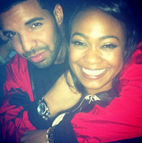 Are Drake and Tatyana Ali Officially Dating? Maybe.