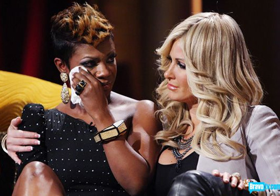 """Kandi Burruss Decides to Sue Kim  Zolciak  for Money Earned for her Song """"Tardy for the Party""""."""