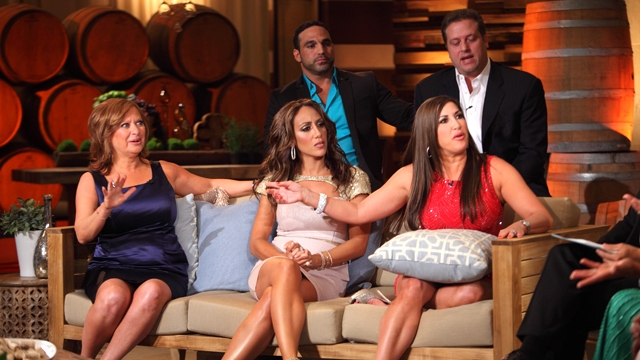 Bloody Brawl on Real Housewives Of New Jersey