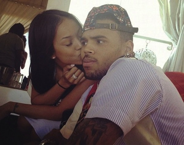 Chris Brown Rumored to be living with Karrueche Tran – Rihanna Not Happy