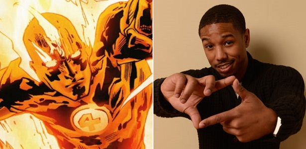 Michael B Jordan Responds to Rumors of Him Being in the Next Fantastic Four Movie [video]
