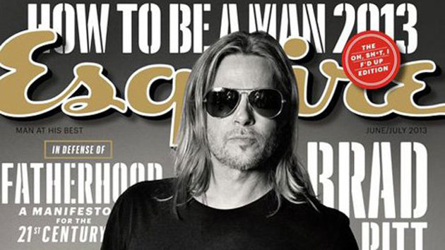 Brad Pitt Keeps it Real in Esquire Interview