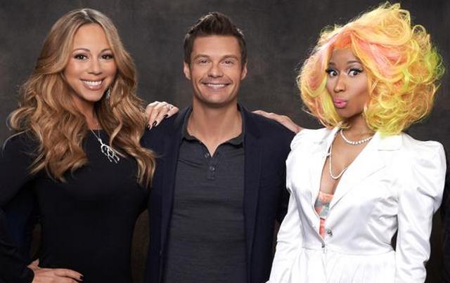 Nicki and Mariah Leaving American Idol