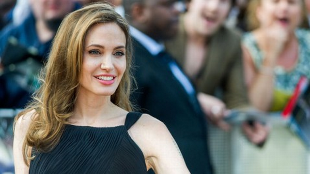 Angelina Jolie Makes First Public Appearance