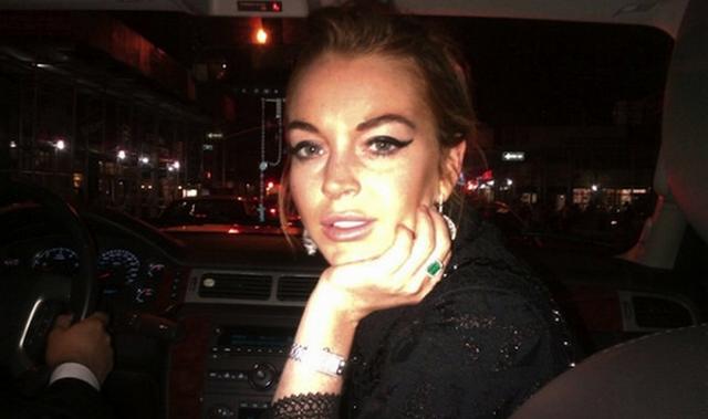 Lindsay Lohan Leaves Rehab