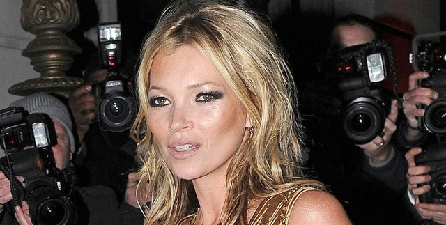 Kate Moss Denies Drug Use and Anorexia