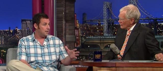 Adam Sandler Attacked By Cheetah! (VIDEO)