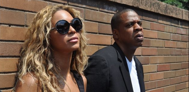Jay Z and Beyonce Attend Trayvon Martin Rally