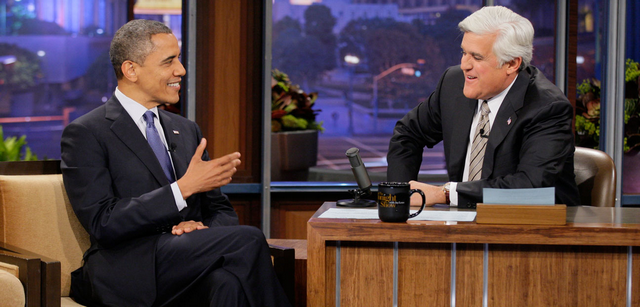 President Obama Talks About Trayvon Martin And Russia On Tonight Show