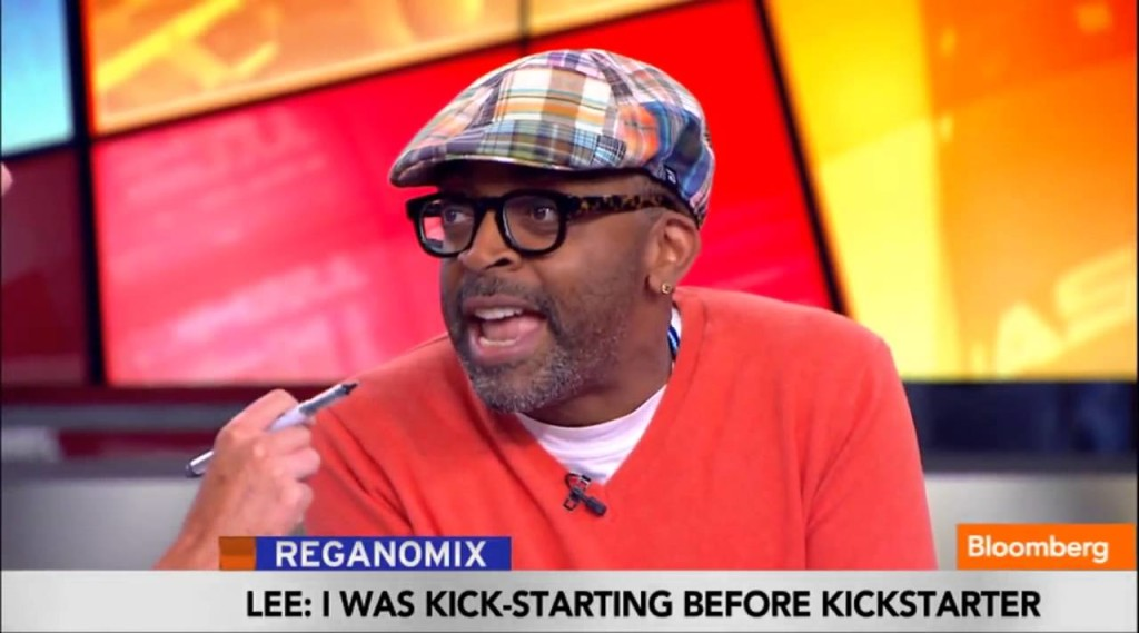 """Watch Spike Lee Go off on Bloomberg's Trish Reegen after She tells him to """"Do the Right Thing"""""""