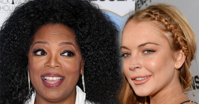 Oprah Gets Tough With Lindsay Lohan