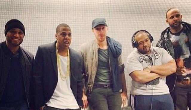 Jay Z and Chris Martin Caught Acting Like Normal People