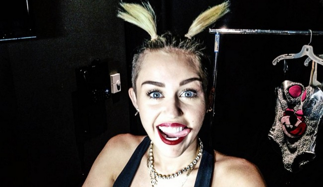 Miley Cyrus Dresses As Lil Kim For Halloween, Terrifying Pictures Inside