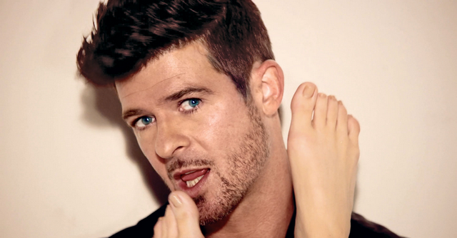 Robin Thicke Is Creepy, Talks About Penis Size