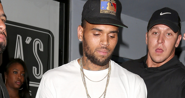 Chris Brown Is Already Out Of Rehab, Taking Pictures With Fans