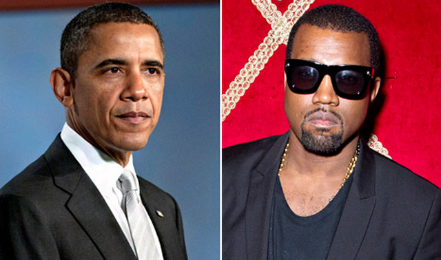 Kanye West Feels Used By Obama, Vows To Never Mention Him Again
