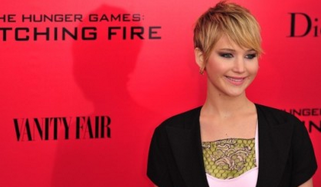 Jennifer Lawrence Screams at Photographers during 'Catching Fire' Premiere (VIDEO)