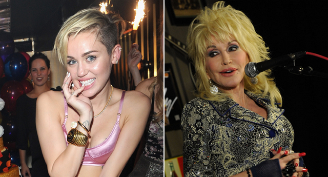 Dolly Parton Talks About Milley Cyrus: YEE-HAW!