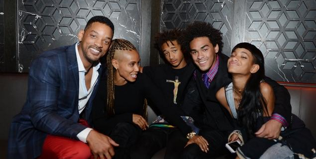 Will And Jada Smith Celebrate Trey's Birthday In Vegas, No Signs Of Marriage Trouble