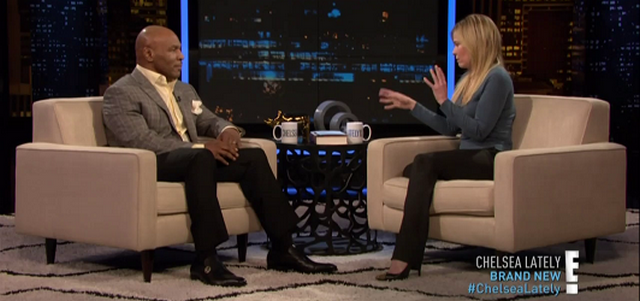 Mike Tyson Talks About His Fake Penis on Chelsea Lately (VIDEO)