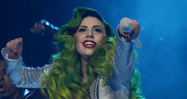 Lady Gaga Celebrates Christmas Early By Becoming A Human Christmas Tree