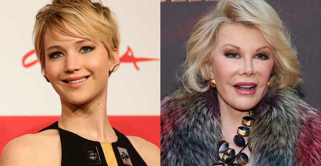 Joan Rivers Is Still Alive And Hating On Jennifer Lawrence