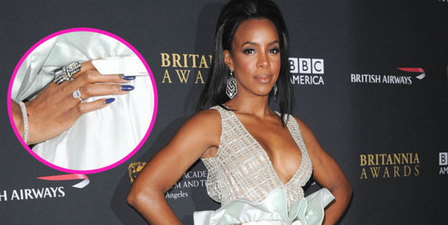 Kelly Rowland Confirms She Is Engaged on The Queen Latifah Show
