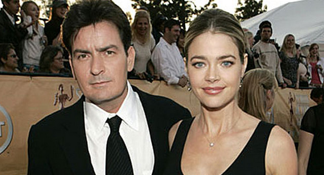 Charlie Sheen Tweets Weird Picture, Threatens to Take Denise Richards to Court Over Christmas Plans
