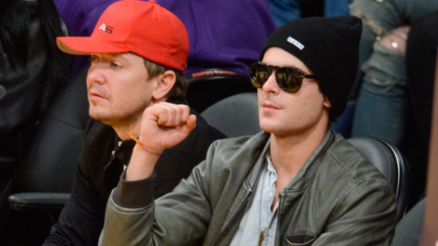 Zac Efron Reaches Big Milestone, Wears Six-Month Sobriety Chip To Lakers Game