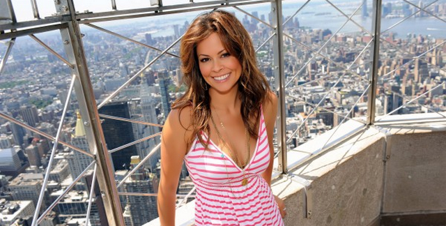 Brooke Burke Shows Off Tight Body While Pumping Gas In Los Angeles (PHOTOS)