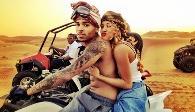 Chris Brown and Karrueche Tran Share Most Disgusting Picture Of 2014
