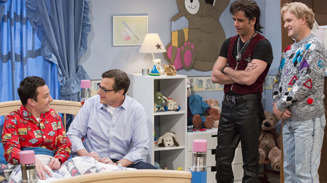 'Full House' Cast Reunites On Jimmy Fallon's Late Night Show, Sings Jimmy To Sleep (VIDEO)