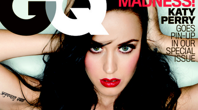 Katy Perry Looks Stunning On GQ Cover, Talks About Her Big Boobs And Losing Virginity