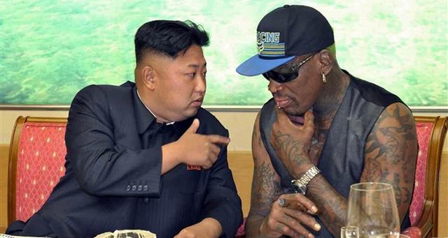 After Leaving North Korea, Dennis Rodman Checks Into Rehab