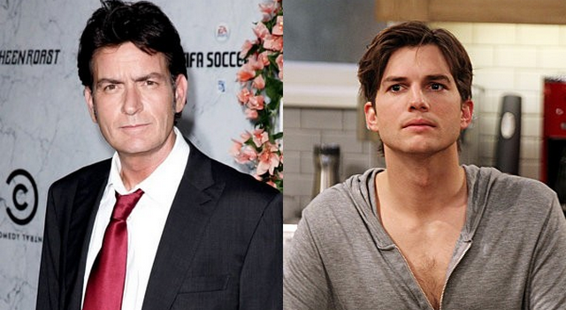 Charlie Sheen Tells Ashton Kutcher: Quit Barfing On My Old Show!