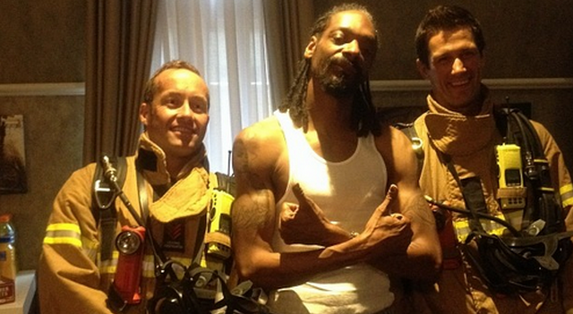 Snoop Dogg Smoked So Much Weed In Australia That Firefighters Were Called To His Hotel Room