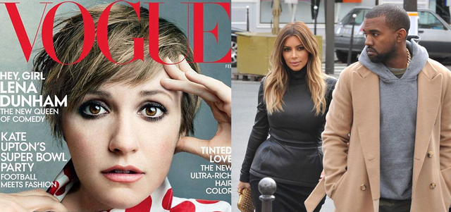 Kanye West Is Reportedly Mad Again, Claims Kim Kardashian Is More Talented Than Lena Dunham