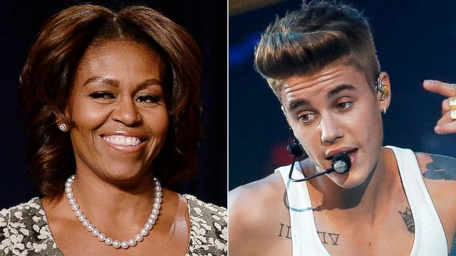 Michelle Obama Has Some Advice For Justin Bieber's Mother