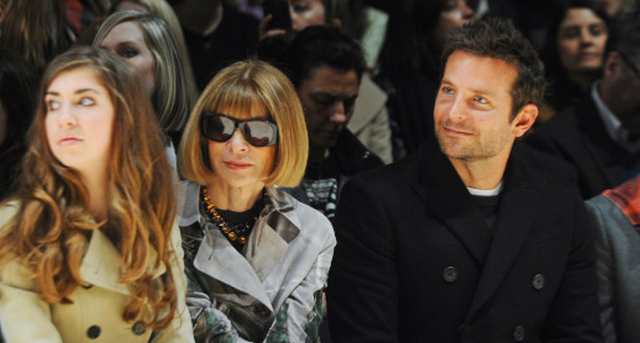 Bradley Cooper Supports His 22-Year-Old Girlfriend During London Fashion Week