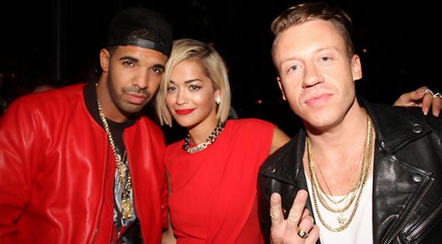 Macklemore Hurt Drake's Feelings By Not Sending Him The Same Text Message He Sent Kendrick Lamar After Grammys