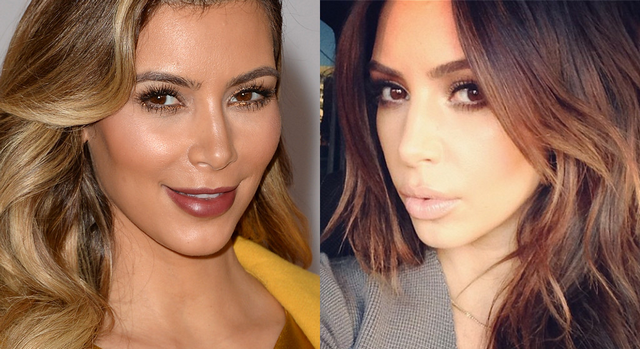 Kim Kardashian Ditches Her Blonde Hair And Then Freaks Out Over The Change On Twitter