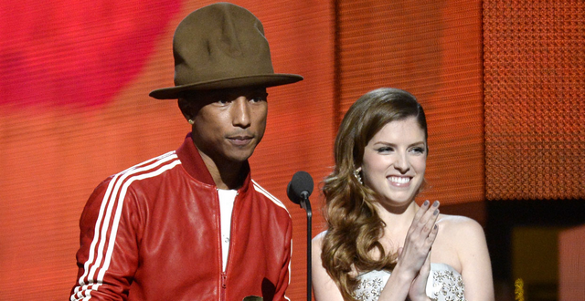 Pharrell Williams Auctioning Off Horrendous Grammys Hat For Charity