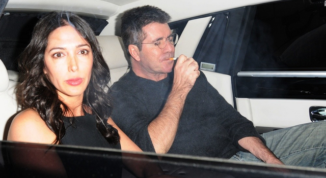 Simon Cowell's Girlfriend Is In Labor!