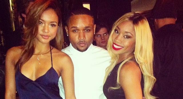 Chris Brown's Girlfriend Karrueche Tran Is Really Hot, Poses In Sheer Lingerie For Photo Shoot
