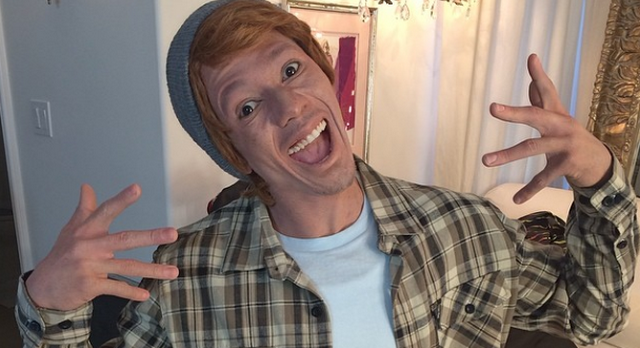 White People Angry At Nick Cannon's White Face Stunt For His New Album